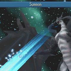 Призыв Бахамута <i>Final Fantasy IV</i> (DS).