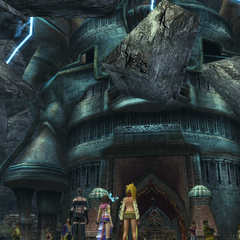 Djose Temple in <i>Final Fantasy X-2</i>.