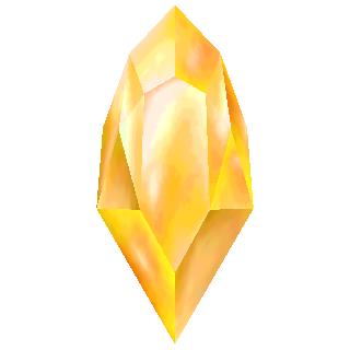 Gold Crystal (3D).