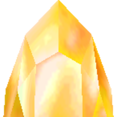 Gold Crystal (3D).