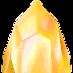 O Cristal Dourado no <i>remake</i> 3D.