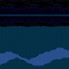Fundo de batalha a noite (SNES).
