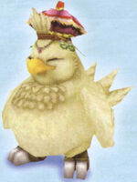 FFIX Fat Chocobo Art