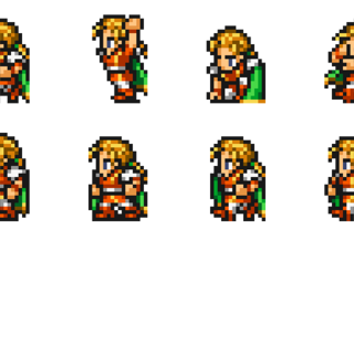Set of Scott's sprites.