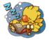 LINE Chocobo Sticker33