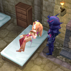 Rosa in Kaipo, with desert fever (DS/iOS).