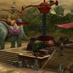 Shoopuf station on the north bank in <i>Final Fantasy X</i>.