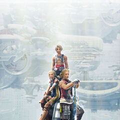 Vaan, Penelo and Basch.