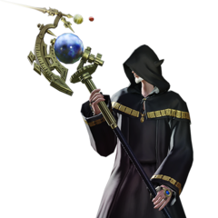 Thaumaturge render for <i>Final Fantasy XIV: A Realm Reborn</i>.