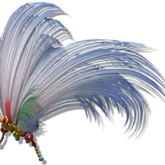 Kefka's Neat Hair Ornament.