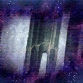 Portal para a Caverna da Fenda Dimensional.
