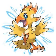 Chocobo Alpha's artwork.