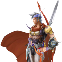 Firion's first alt outfit in <i>Dissidia Final Fantasy</i>, based on Amano's artwork.
