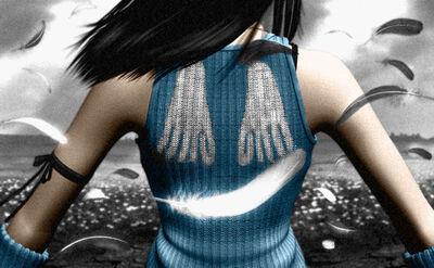 Rinoa Angel Back
