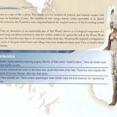 Viera em <i>Final Fantasy XII Official Strategy Guide Book</i>.