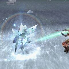 Blizzara used by Lightning in <i><a href=