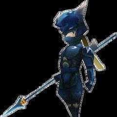 Render de Kain durante o jogo (DS).