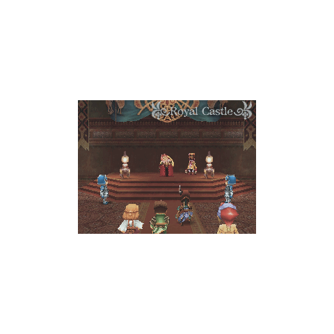The Royal Castle in <i>Final Fantasy Crystal Chronicles: Ring of Fates</i>.