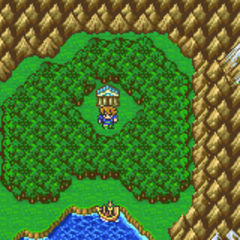 Wind Shrine on the World Map (GBA).