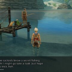 Cactoids' secret fishing spot.