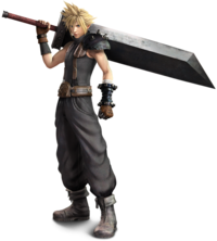 Cloud Strife Dissidia (Arcade) 2015
