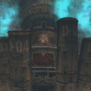 Mako Reactor 0 in <i>Dirge of Cerberus -Final Fantasy VII-</i>.