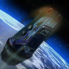 Space capsule.