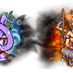 Ultimate+ Asura & Leviathan.