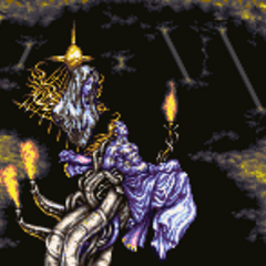Statues battle background (GBA).
