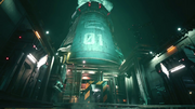 Mako Reactor 1 structure in FFVII Remake