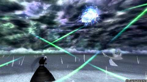 Sephiroth walking in air glitch