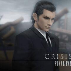 Загрузочный экран в <i>Crisis Core -Final Fantasy VII-</i>.