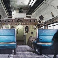 Ноктис на поезде.