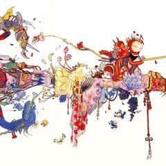 Yoshitaka Amano concept artwork, entitled