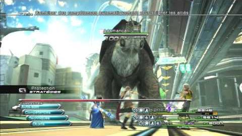 Final Fantasy XIII Combat contre Adamancalli