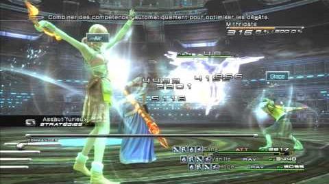 Final Fantasy XIII Combat contre Mithridate