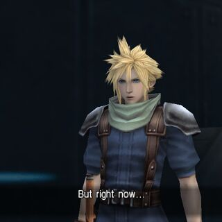 Cloud as he appears in-game.