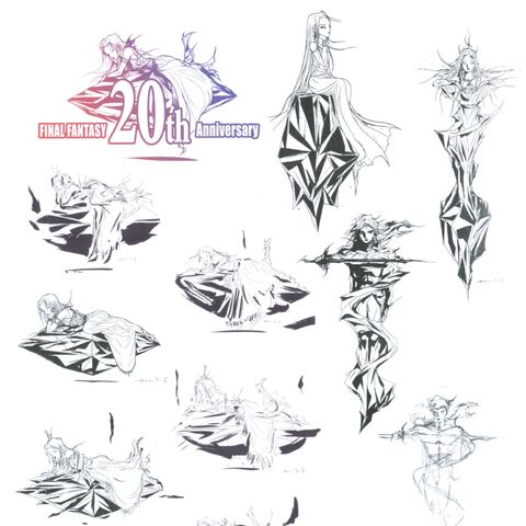 Logo sketches.