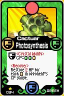 Cactuar Photosynthesis