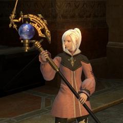 Um astrolábio.