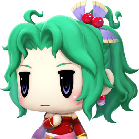 Terra in <i>World of Final Fantasy</i>.