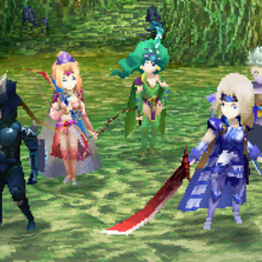 Battle in the Sylph Cave (DS).