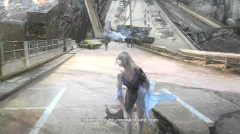 Final Fantasy XV Episode Duscae A Hint of Things To Come