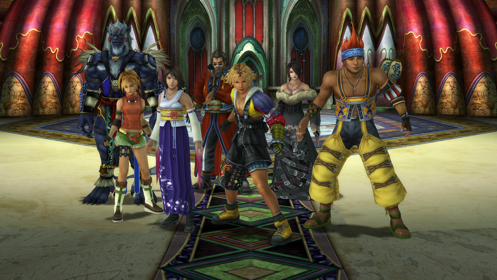 Image result for final fantasy x cast