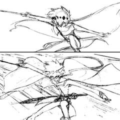 Action sketch