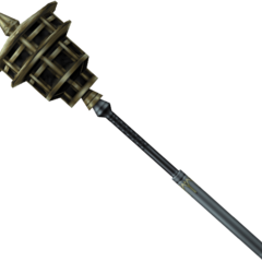 In-game model of Cinque's mace.