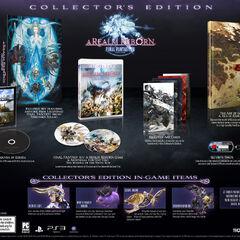 Коробка и содержимое североамериканского коллекционного издания для PC.
