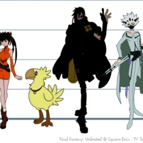 Main cast height chart