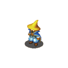 A hume Black Mage in <i><a href=