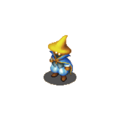Hume Black Mage sprite in <i><a href=